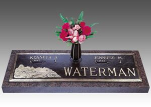 Companion memorials offer a way to families to pay tribute to the love of a lifetime